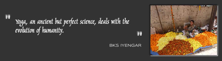 Iyengar Yoga quote